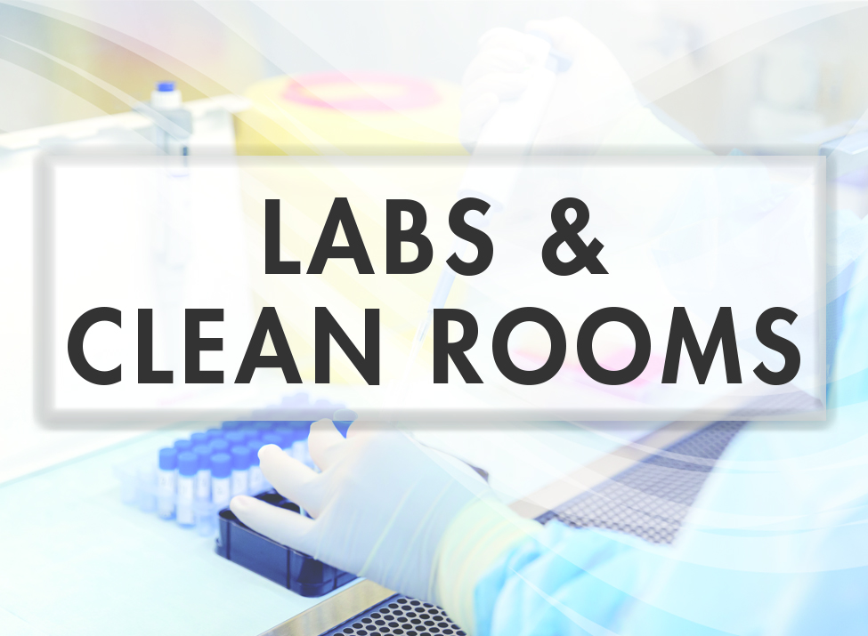 Labs and clean rooms Application_square for website