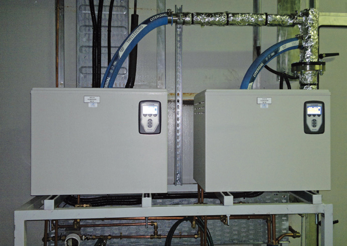 Installed Humidi-tech humidifiers at BSCL.