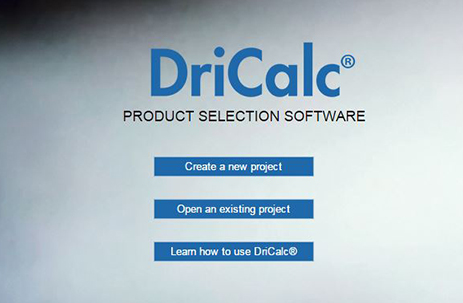 Size & select equipment with DriCalc image