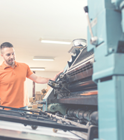 Reduce Scrap and Improve Equipment Operation in Print Shops mobile image