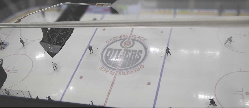 Humidification at Rogers Arena in Edmonton image
