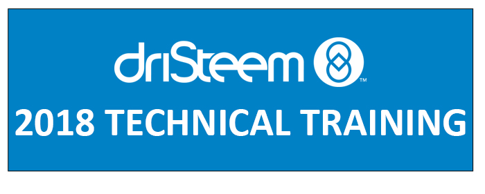 2018 DriSteem Technical Training_News image